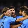 'Incredible night': Sydney FC secure Premiers' Plate after Phoenix draw with Adelaide