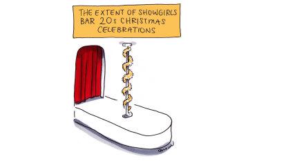 CBD Melbourne: Showgirls hits a silly season snag