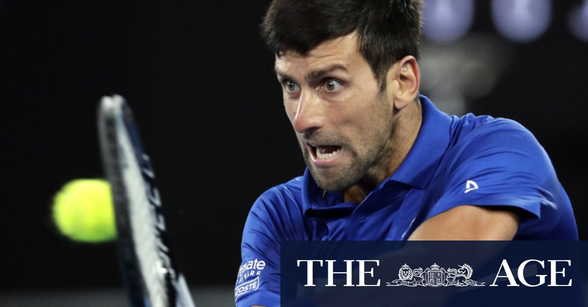 Slammed shut? Pressure on Australian Open with tennis stars facing delay to enter Victoria – The Age