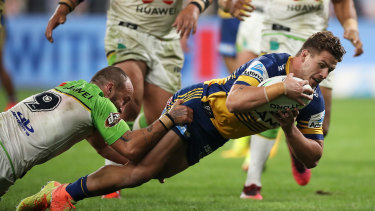 Ray Stone and the Parramatta Eels will play in front of a crowd capped at 7500 against the Cowboys on Friday night.