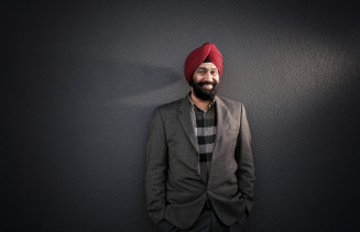 Representation matters: Australia India Society of Victoria president Karan Gandhok.