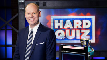 The Hard Quiz host is up for the Gold Logie on Sunday.
