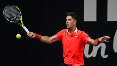 Thanasi Kokkinakis will play in the Australian Open after coming through qualifying.