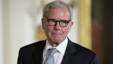 Tom Brokaw has been accused of harassment by a fellow journalist.