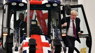 Boris Johnson is hoping to bulldoze his way to victory but Tories are nervous.
