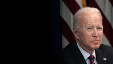 It's over: US President Joe Biden.