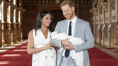 The Duchess of Sussex wasn't afraid to look like a woman who had just given birth after she had her baby.