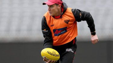 Safe pair of hands: Essendon have backed John Worsfold to lead the club's coaching ranks in 2020.