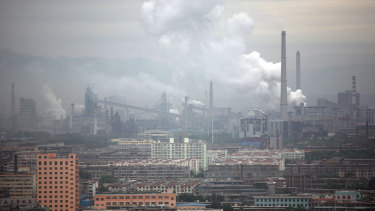 China is leaning more on coal than other nations, the report found.