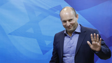 Israeli Minister of Education Naftali Bennett.