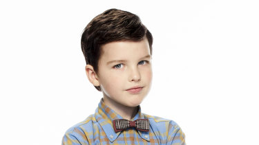 Iain Armitage is Young Sheldon.