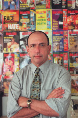 Gerald Stone during his tenure as editor of The Bulletin.