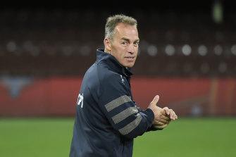 Hawthorn coach Alastair Clarkson.