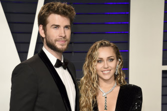 Liam Hemsworth and Miley Cyrus married in a low-key ceremony just before Christmas.