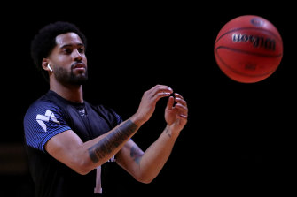 Melo Trimble is hoping to impress NBA scouts in Melbourne United's pre-season trip to the US.