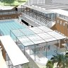 Perched on the edge of the harbour, this pool is in need of 'urgent remedial work'