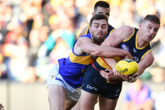 West Coast's Fraser McInnes spent a long time on their list for few games.