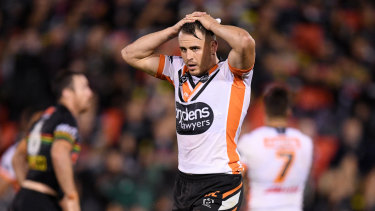The Tigers could have no choice but to run the out-of-favour Josh Reynolds out again.