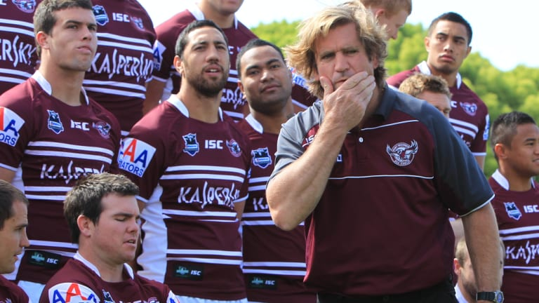 In discussions: Des Hasler is in the frame to return to Manly.