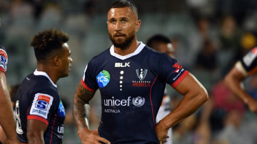 Twinning: Quade Cooper and Will Genia will link up again in Japan after the Rugby World Cup.