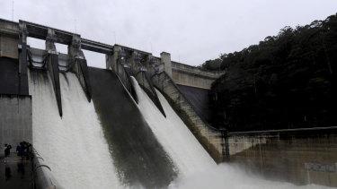 Contentious: The Warragamba Dam.
