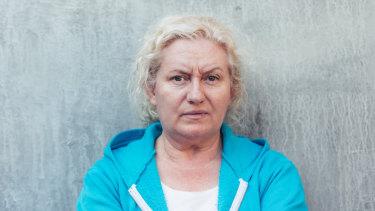 Celia Ireland plays Liz Birdsworth in gritty prison drama Wentworth