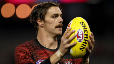 Bomber Joe Daniher's 2019 was over before it had a chance to really get going.