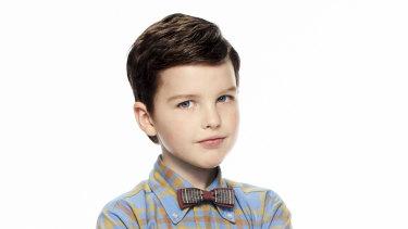 Iain Armitage is Young Sheldon.