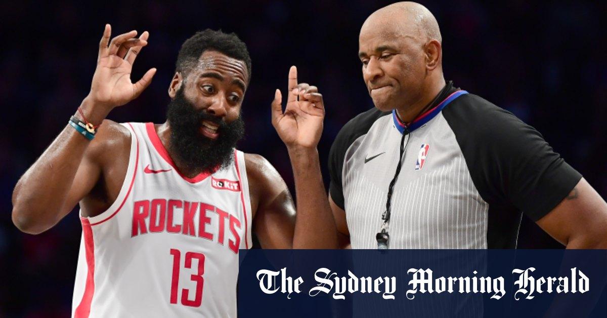Harden fined NBA postpones Thunder-Rockets game – Sydney Morning Herald