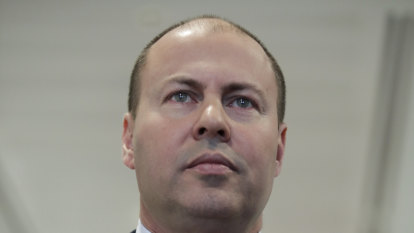Infrastructure spending and deeming rates on Frydenberg's list