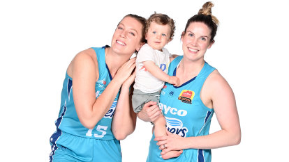 WNBL stars make an impact, returning to the big time with bubs in hub