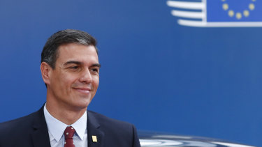 Spanish Prime Minister Pedro Sanchez couldn't garner enough support to govern outright.