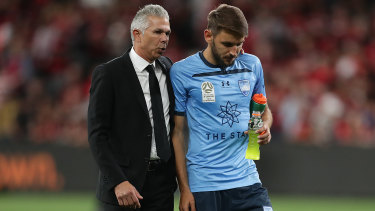 """Someone you want to play for"": Steve Corica is on the cusp of a fifth title at Sydney FC."