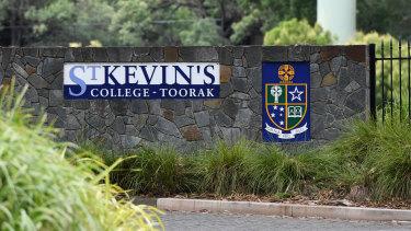 St Kevin's College in Toorak.