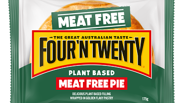 The meat-free pie.