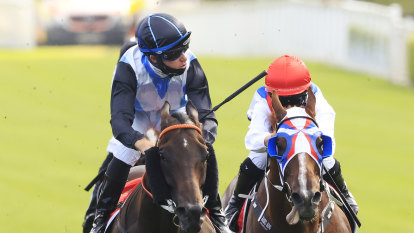 Birthday boy Berry snatches jockey's premiership lead