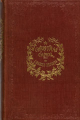 First edition of A Christmas Carol.