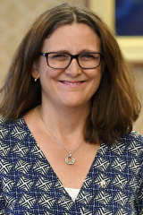 Cecilia Malmstrom calls Australia is a 'like-minded friend'.