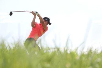 Min Woo Lee during last week's Italian Open in Rome.