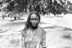 Bougainville Portraits: a Jon Lewis work at the National Museum of Australia.