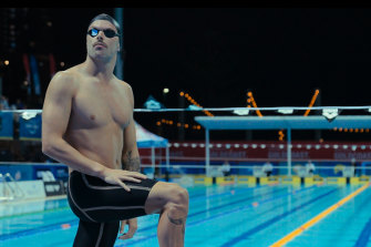 Kyle Chambers is one of four swimmers preparing for the Tokyo Olympics profiled in documentary series Head Above Water.