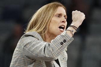 Magpies coach Nicole Richardson.