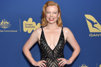 AiF breakthrough award winner: Sarah Snook.