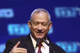 Blue and White leader Benny Gantz led his party to strong result, equalling Netanyahu's Likud party with a likely 32 seats.