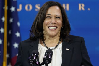McConnell congratulated Kamala Harris for becoming the first female vice-president in US history.