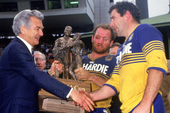 The Eels haven't won a competition since the late Bob Hawke was prime minister.