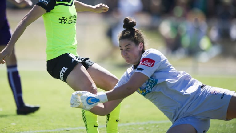 Melissa Maizels is back in Canberra - and this time she is back on the home team.