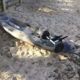 Chris Dicker's Kayak was found on the beach near the mouth of Tallebudgera Creek early on Sunday afternoon