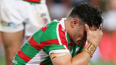 James Roberts is out of South Sydney's grand final qualifier against Canberra.