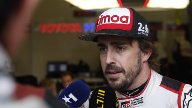 Claim: Veteran Fernando Alonso says he was contacted about Red Bull's vacancy.